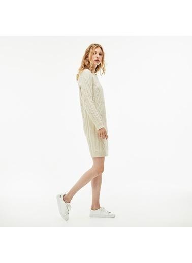 Lacoste Kadın  Elbise EF8823.FJ7 Bej
